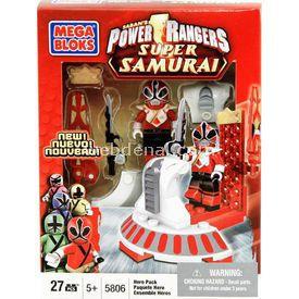 Mega Bloks Power Rangers Süper Samurai Hero Ss Kırmızı Lego Oyuncakları