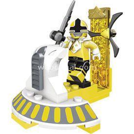 Mega Bloks Power Rangers Süper Samurai Hero Ss Sarı Lego Oyuncakları