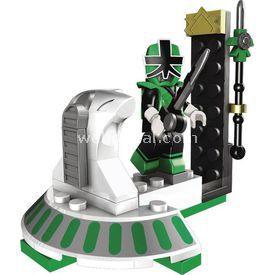 Mega Bloks Power Rangers Süper Samurai Hero Ss Yeşil Lego Oyuncakları