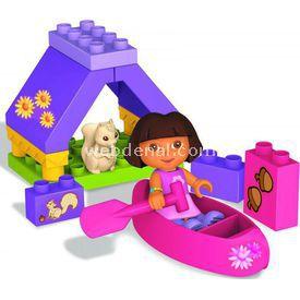 Mega Bloks Dora'nın Kamp Macerası Oyun Seti Lego Oyuncakları