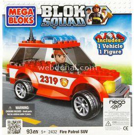 Mega Bloks Blok Squad Fire Patrol Suv Lego Oyuncakları