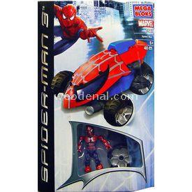 Mega Bloks Spiderman Ve Örümcek Ağı Arabası Lego Oyuncakları