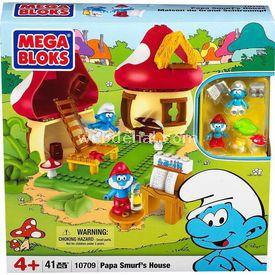 Mega Bloks Şirin Babanın Evi 41 Parça Lego Oyuncakları
