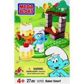 Mega Bloks Şirinler Aşçı Şirin Mini Oyun Seti Lego Oyuncakları