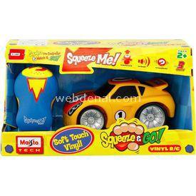 Maisto Squeeze & Go Kumandalı Araba Sarı Arabalar