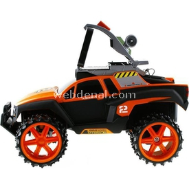 Maisto Recon Rover U/k Tech 1:16 Turuncu Arabalar