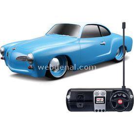 Maisto 1966 Volkswagen Karmann Ghiau U/k 1:24 Mavi Arabalar