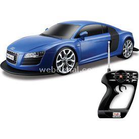 Maisto Tech 1:10 Audi R8 V10 U/k Araba Lacivert Arabalar