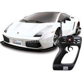 Maisto Tech 1:10 Lamborghini Gallardo U/k Araba Beyaz Arabalar