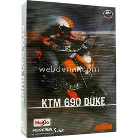 Maisto 1:12 Ktm 690 Duke Model Maket Kit Motosiklet Puzzle