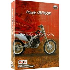 Maisto 1:12 Honda Crf450r Model Maket Kit Motosiklet Puzzle