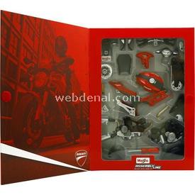 Maisto 1:12 Ducati Monster 696 2011 Maket Kit Motosiklet Puzzle