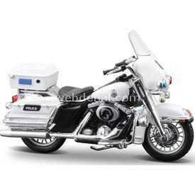 Maisto Harley Davidson 2004 Flhtpı Electra Glide Motosiklet Erkek Çocuk Oyuncakları