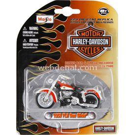 Maisto Harley Davidson 1958 Flh Duo Glide Motosiklet 1:24 Arabalar
