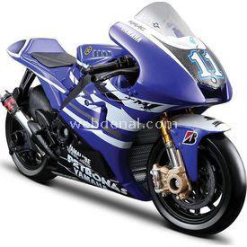 Maisto 1:18 Yamaha Ben Spies Diecast Model Motosiklet Arabalar