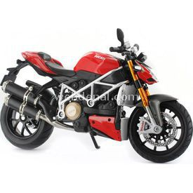 Maisto 1:12 Ducati Mod. Street Model Motosiklet Erkek Çocuk Oyuncakları