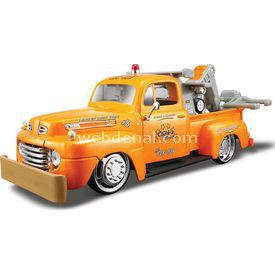 Maisto 1948 Ford F1 Wrecker 1:24 Allstars Model Araba Turuncu Arabalar