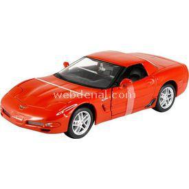 Maisto Corvette Z06 1:24 Model Araba S/e Kırmızı Arabalar