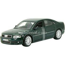 Maisto Audi A8 1:26 Model Araba S/e Yeşil Arabalar