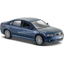 Maisto Audi A8 1:26 Model Araba S/e Mavi Arabalar