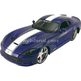 Maisto 2013 Srt Dodge Viper Gts 1:24 Model Araba Pro Rodz Mavi Arabalar