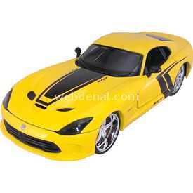 Maisto 2013 Srt Dodge Viper Gts 1:24 Model Araba Pro Rodz Sarı Arabalar