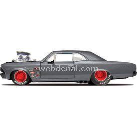 Maisto Chevrolet Chevelle Ss 1966 1:24 Model Araba P/r Gri Arabalar