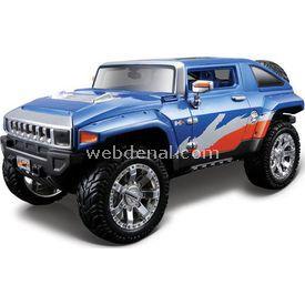 Maisto 2008 Hummer Hx Concept 1:24 Model Araba Allstars Mavi Arabalar