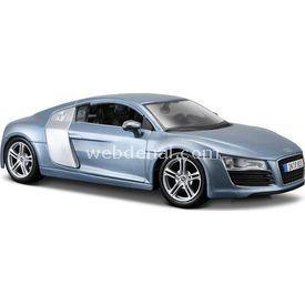 Maisto Audi R8 1:24 Model Araba S/e Mavi Arabalar