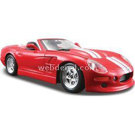 Maisto 1999 Shelby Series I Diecast 1:24 Model Araba S/e Kırmızı Arabalar