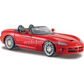 Maisto Dodge Viper Srt-10 2003 1:24 Model Araba S/e Kırmızı Arabalar
