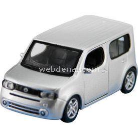 Maisto 2009 Nissan Cube Çek Bırak Oyuncak Araba Arabalar