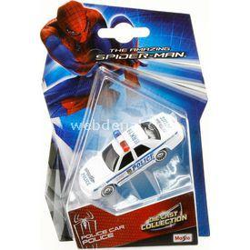 Maisto Spiderman Police Car Tekli Oyuncak Araba Arabalar