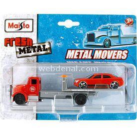 Maisto Fresh Metal Fmr Flatbed Ve Rv770 Taşıyıcı Tır Arabalar