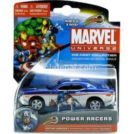 Maisto Marvel Power Racers Dodge Challenger Araba Arabalar