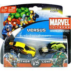 Maisto Marvel Universe Thor Ve Loki Oyuncak Araba Arabalar