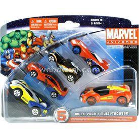 Maisto Marvel 5 Li Araba Seti 3 Arabalar