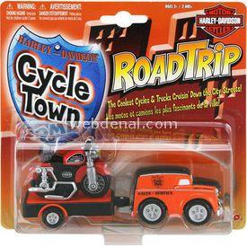 Maisto Harley Davidson Cycle Town Oyuncak Servis Aracı Ve Motor Set Arabalar