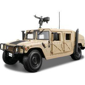 Maisto Humvee 1:18 Model Araba P/e Kahverengi Arabalar