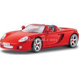 Maisto Porsche Carrera Gt 1:18 Model Araba P/e Kırmızı Arabalar