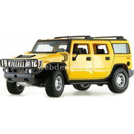 Maisto Hummer H2 Suv 2003 1:18 Model Araba P/e Sarı Arabalar