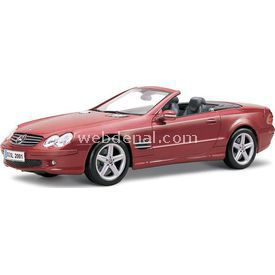 Maisto Mercedes-benz Sl-class 1:18 Model Araba P/e Kırmızı Arabalar