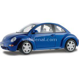 Maisto Volkswagen New Bettle 1:18 Model Araba S/e Mavi Arabalar