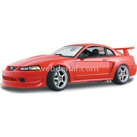 Maisto Svt Mustang Cobra 2000 1:18 Model Araba S/e Kırmızı Arabalar