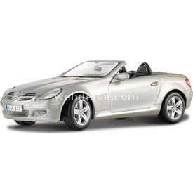 Maisto Mercedes Benz Slk Convertible 1:18 Model Araba S/e Gri Arabalar