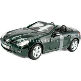 Maisto Mercedes Benz Slk Convertible 1:18 Model Araba S/e Yeşil Arabalar