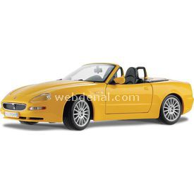 Maisto Maserati Spyder 1:18 Model Araba S/e Sarı Arabalar
