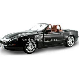 Maisto Maserati Spyder 1:18 Model Araba S/e Siyah Arabalar