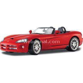 Maisto Dodge Viper Srt-10 2003 1:18 Model Araba S/e Kırmızı Arabalar