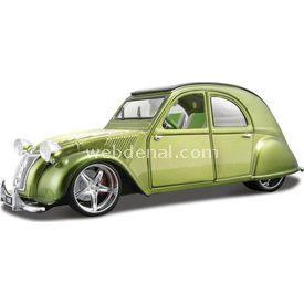 Maisto All Star Citroen 2cv 1952 1:18 Model Araba Allstars Yeşil Arabalar